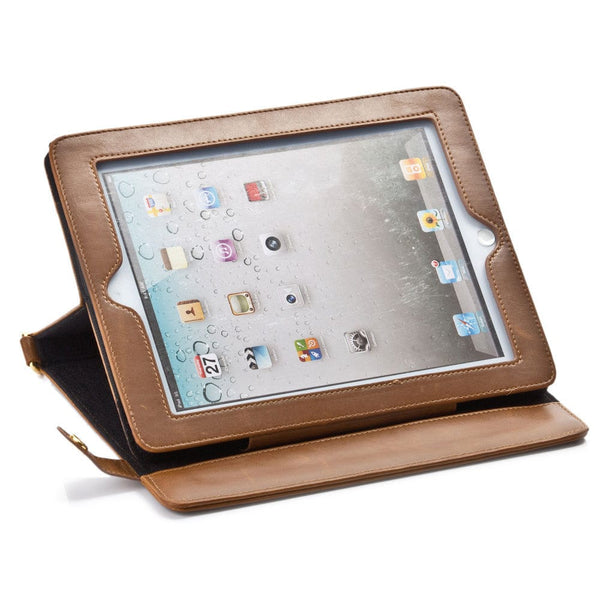 Sherpa Carry Magnetic Folio Case with Shoulder Strap for all Apple iPads - 42