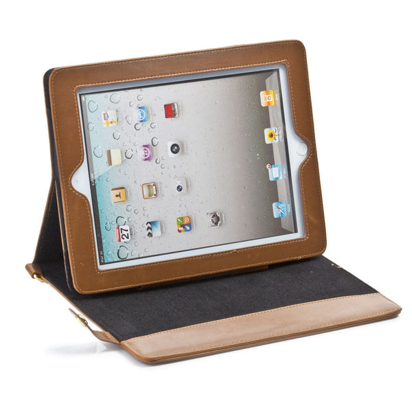 Sherpa Carry Magnetic Folio Case with Shoulder Strap for all Apple iPads - 41