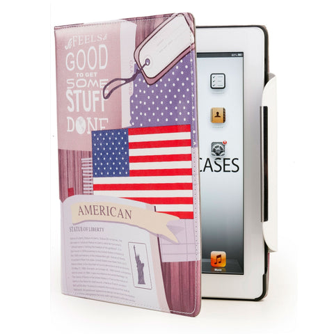 Cooper Schoolbook Folio Case for Apple iPad 2/3/4 - 1