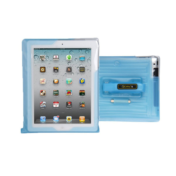 DiCAPac WP-i20 Floating Waterproof Case with Hand Strap for Apple iPad - 3