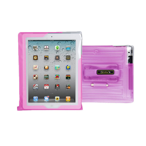 DiCAPac WP-i20 Floating Waterproof Case with Hand Strap for Apple iPad - 5