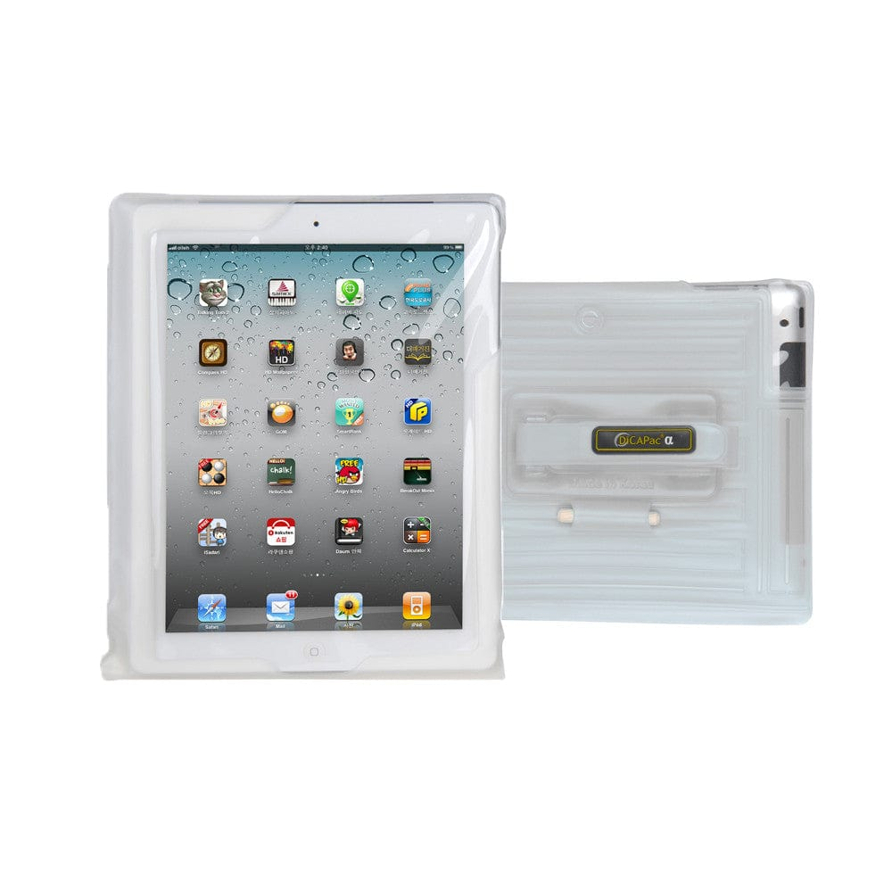 DiCAPac WP-i20 Floating Waterproof Case with Hand Strap for Apple iPad - 6