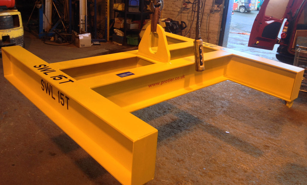 4 Point 'H' Section Lifting Beam - 1000KG to 15,000KG - Lifting Slings