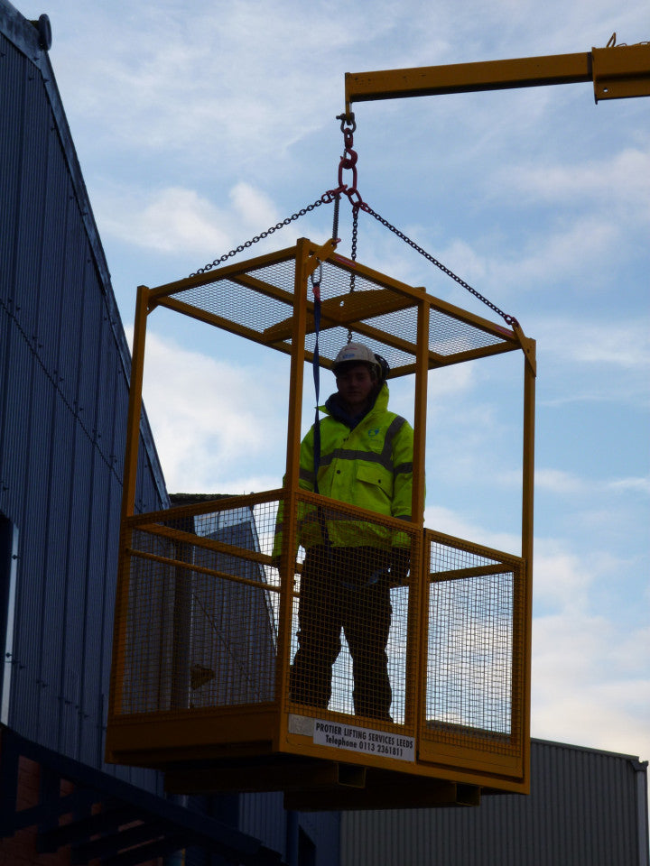 Crane & Fork Lift Truck Mounted Man Riding Baskets - Lifting Slings