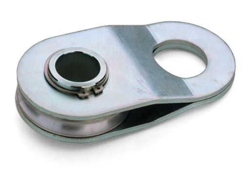 Galvanised Heavy Duty Snatch Block / Swing Block 9 tonnes - Tow Ball compatible - Lifting Slings