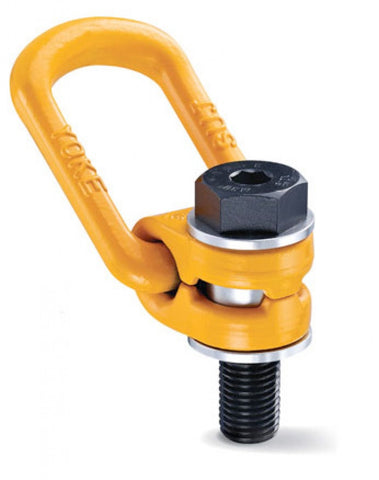 Yoke 360° Swivel Lifting Ring (Metric) - Lifting Eye Bolts - Lifting Slings