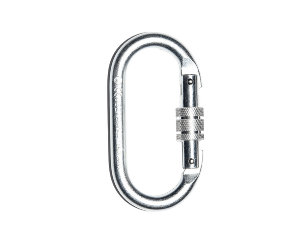 Harness Accessories - Checkmate PPEH-04A - 11mm screw gate karabiner (Steel)
