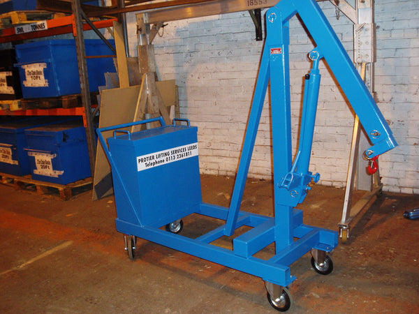 Counterbalance Workshop Floor Crane - Lifting Slings