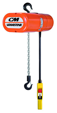Yale CM Lodestar Electric Chain Hoist Range - 250kg to 3000kg Single / Three Phase - Lifting Slings
