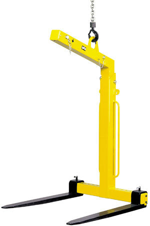 Yale / Camlok - TKG-VHS Self Weight-Balance Crane Forks - 1000kg to 5000kg - Lifting Slings