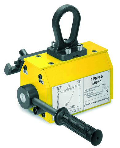 Yale TPM Permanent Lifting Magnet - 100KG - 1000KG - Lifting Slings