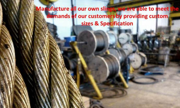 Steel Wire Rope Lifting Slings - Lifting Slings