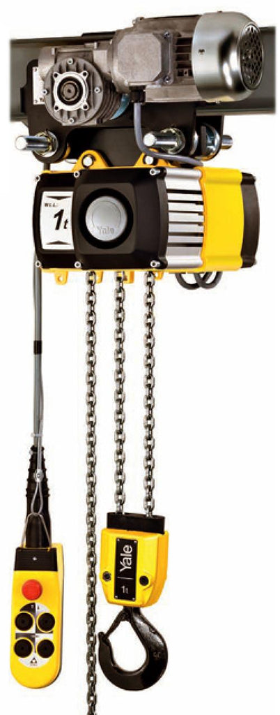 Yale CPV/F Electric Hoists (Electric Trolley) C/W Single Speed 18 m/m [400v 3Ph 50hz]