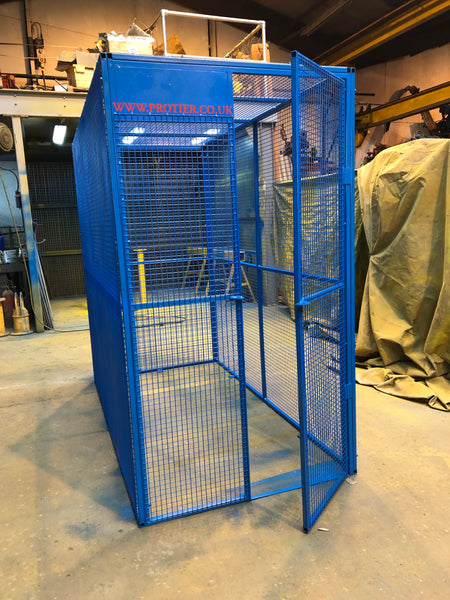 Portable site gas bottle/storage Cage