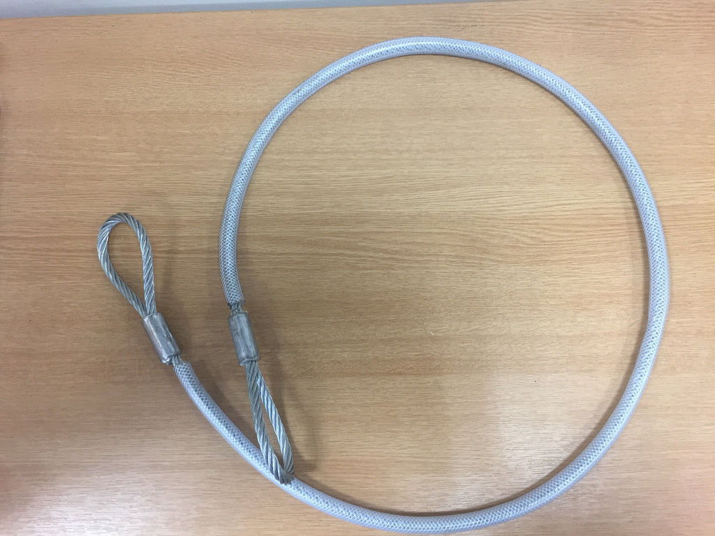 Steel Wire Axle Strop With PVC Sleeve 8mm x 1.5mt - Lifting Slings