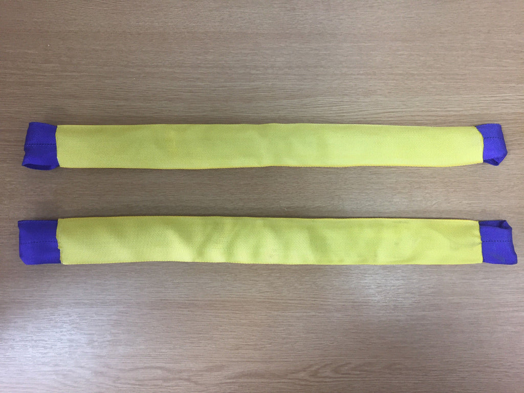 2 x Alloy Wheel Soft Link Straps Trailer Recovery - Lifting Slings