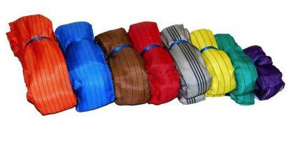 Round Slings - Polyester Endless slings - Lifting Slings