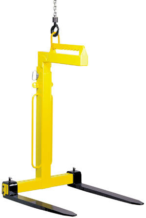 Yale / Camlok - TKG-VH Manual Balance Crane Forks - 1000kg to 5000kg - Lifting Slings