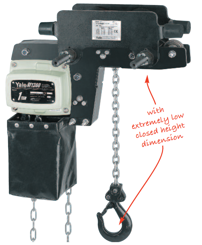 YLLHP/G Trolley Hoists Geared