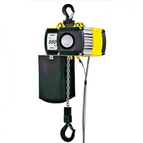 Yale CPV/F Electric Hoists (Manual Suspension) C/W PUSH TROLLEY [400v 3Ph 50hz]
