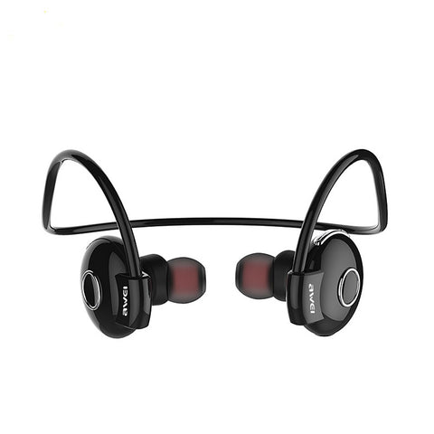 Awei A845BL Bluetooth V4.1 Noise Reduction Neckband Stereo Earphones