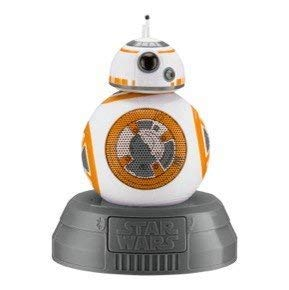 Star Wars BB-8 Light Up Portable Bluetooth Speaker with Speakerphone function compatible iPhone, Samsung, Tablets and all other bluetooth devices