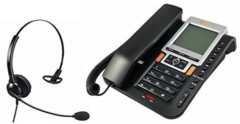 Home Workers Telephone Kit With Professional Phone And Monaural Headset