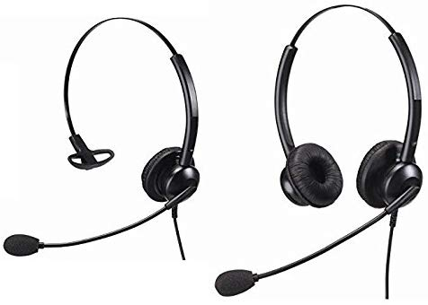 Noise Cancelling Headset With 2.5mm Connection Suitable For Home or Office and Call Centres