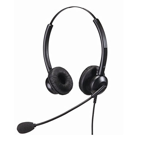 HSD Binaural Noise Cancelling Office and Call Centre Headset USB Connection