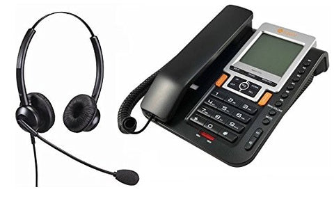 Home Workers Telephone Kit With Professional Phone And Binaural Headset