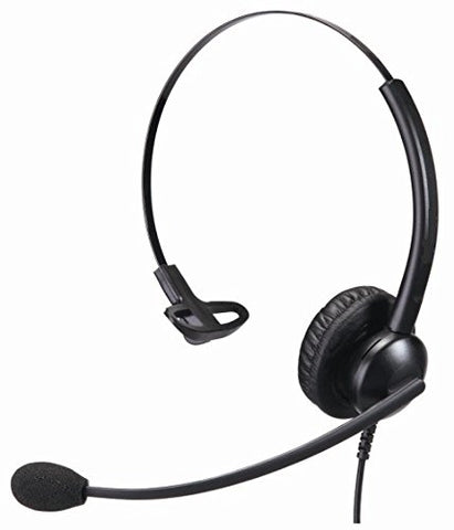 HSD Monaural Noise Cancelling Premium Office and Call Centre Headset 2.5mm Connection