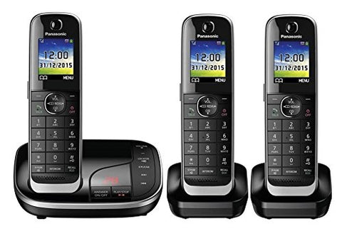 Panasonic KX-TGJ323 Digital Cordless Phone with Nuisance Call Control, Triple DECT