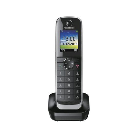 Panasonic extra handset KX-TGJ310/320/322/323 incl. LS black - suitable for KX-TGJ310, KX-TGJ320, KX-TGJ322, KX-TGJ323