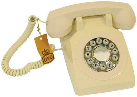 GPO 1970's Retro Style Push Button Telephone