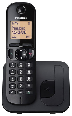 Panasonic Cordless Phone (DECT, Hands Free Functionality, Low Radiation, Elderly Friendly Phone)