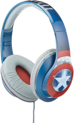 eKids Marvel Avengers Over Ear Headphones with Volume Control