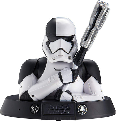 Star Wars Stormtrooper Bluetooth Speaker with Speakerphone compatible with iPhone, Samsung, Tablets and all other bluetooth devices.