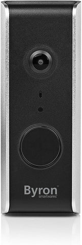 Byron WiFi Video Doorbell, Black