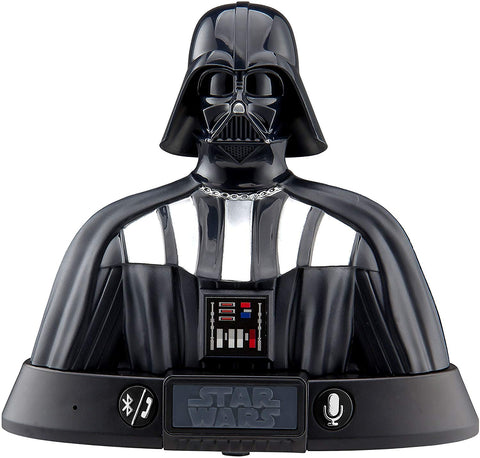 Star Wars Darth Vader Bluetooth Speaker with Speakerphone Voice Activation, compatible with iPhone, Samsung, Tablets and all other bluetooth devices.
