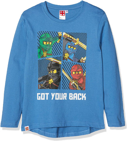 LEGO Ninjago Long Sleeve T-Shirt Blue (10 yrs)