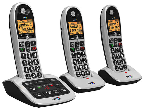 BT 4600 Big Button Advanced Call Blocker Home Phone with Answer Machine - Parent