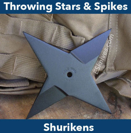 Throwing Stars & Shurikens