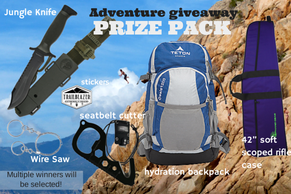 ESKnives adventure prize pack