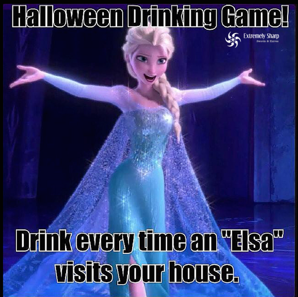Happy Halloween - Frozen Drinking Game – Extremely-Sharp.com