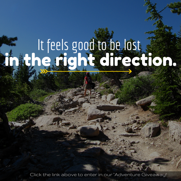 good to be lost quote