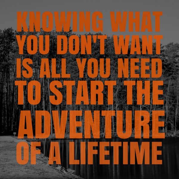 adventure of a lifetime quote