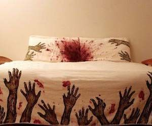 Zombie bed sheet set