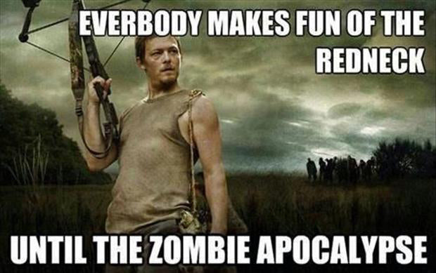 Daryl Walking Dead Redneck