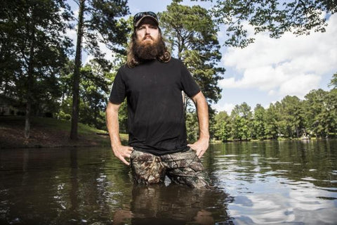 Robertson Family Duck dynasty swamp picture