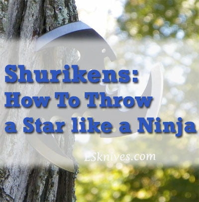 How to Throw Ninja Throwing Star